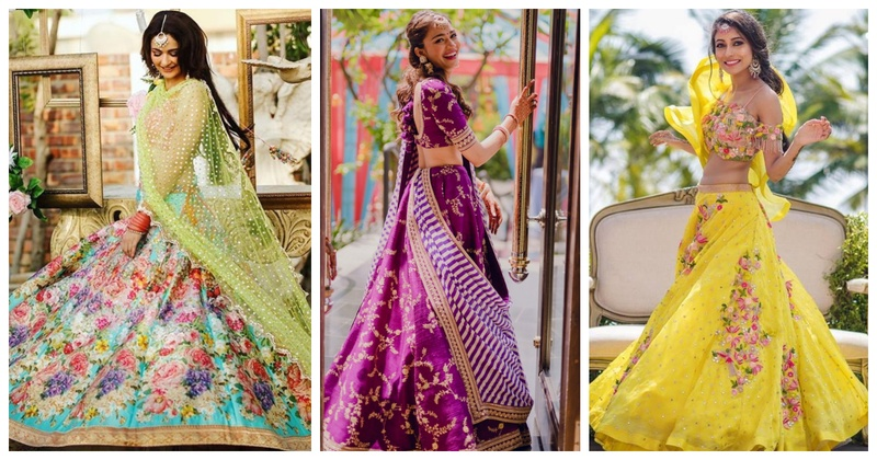 latest lehenga designs which are a must see for 2018 indian brides