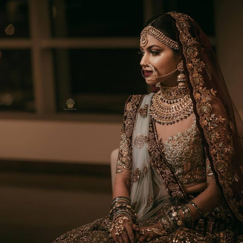 681fc91ad4 Lehenga colour combinations that are going to rule 2018 Indian ...