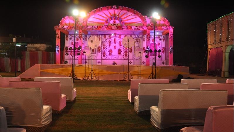 Sai Garden Samuhdayak Kendra Khandari Agra - Banquet Hall