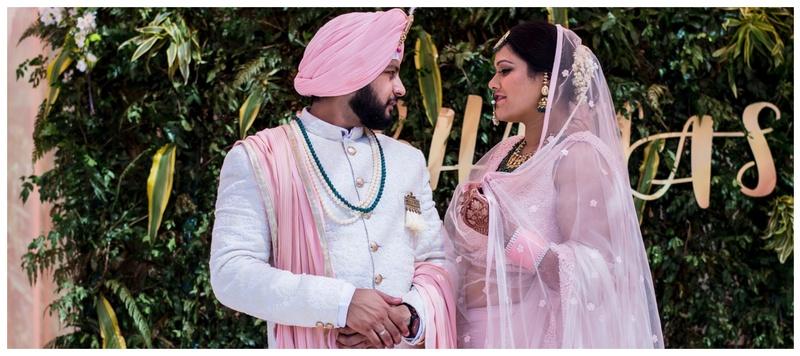 Harsh & Mahima Chandigarh : Photographers Mahima Bhatia and Harsh's wedding is the cutest thing we've come across!