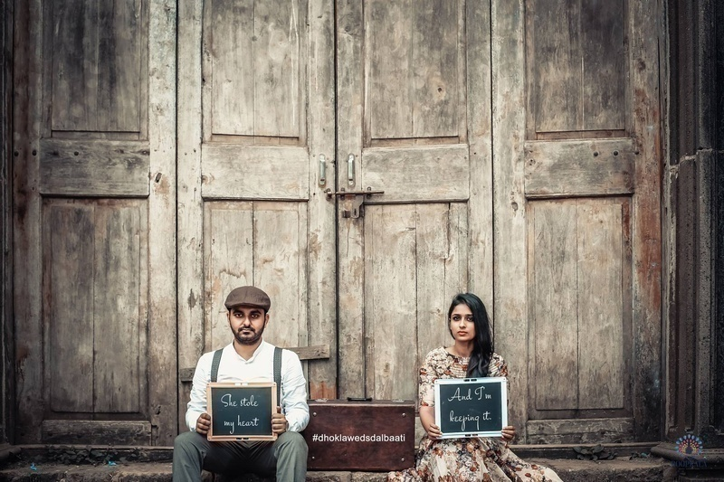 Vintage Pre-Wedding Photoshoot in Mumbai with an Old World ...