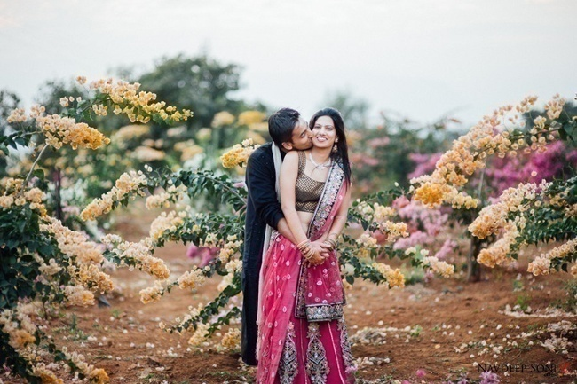 Neha and Kunal's Gorgeous Green Destination Wedding held at Malhar Machi, Pune