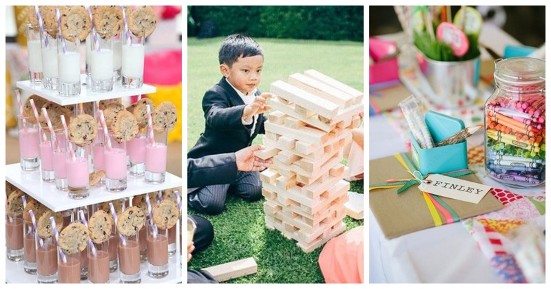 5 Ways to Keep Kids Entertained at your Wedding