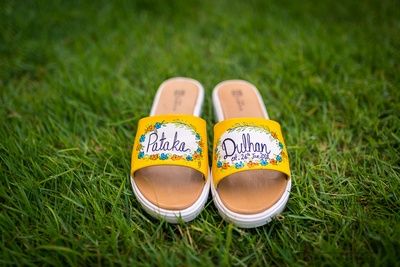 quirky footwear ideas for the bride