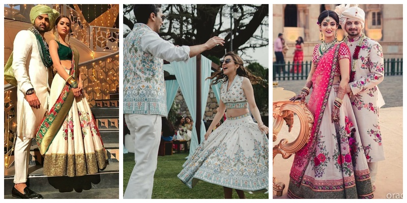 10 Couples who showed us how to co-ordinate your outfits on your wedding day!