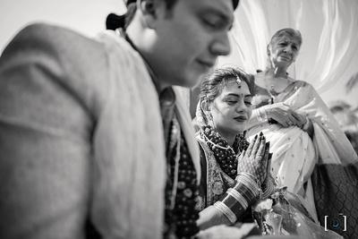 Traditional Hindu wedding at Goa on the beachside