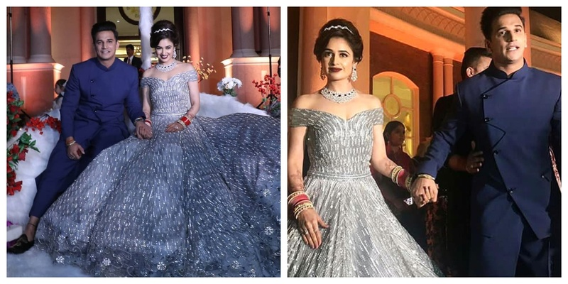 Prince Narula and Yuvika Chaudhary's Chandigarh Reception looks right out of a Fairytale!