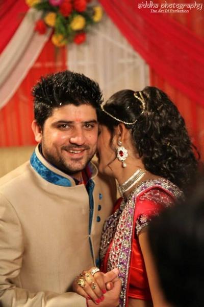 Wedding celebrations of the newlyweds