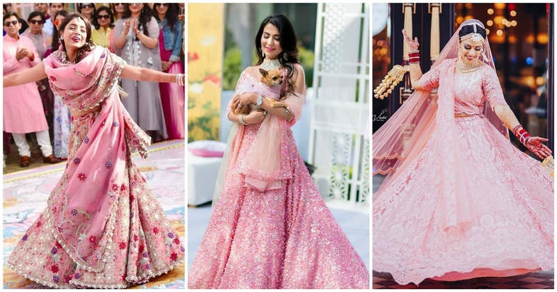 8 pink bridal lehengas which you should definitely bookmark for your D-day!