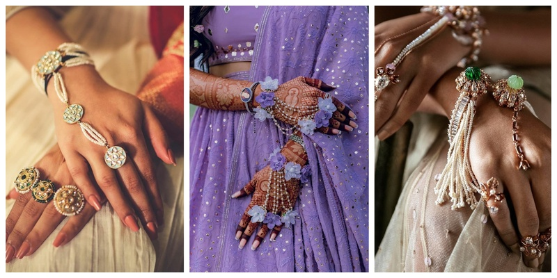 8 Floral and Unconventional Haathphool Designs for the Millennial Bride