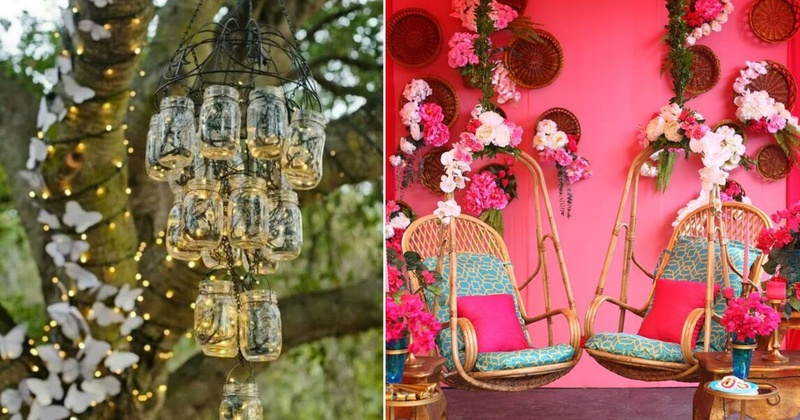 15 DIY Mehndi Decoration Ideas At Home That Are Chic And