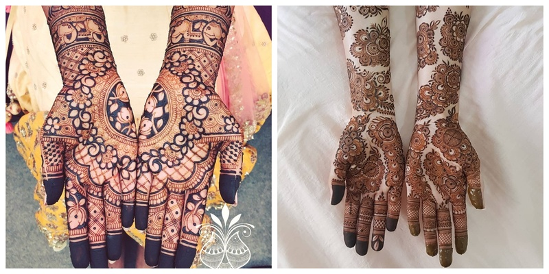 7 Beautiful Mehendi Designs we Spotted on the Internet in 2020