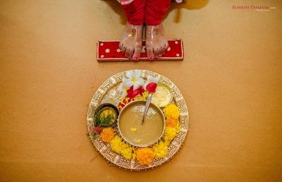 haldi ceremony photography ideas