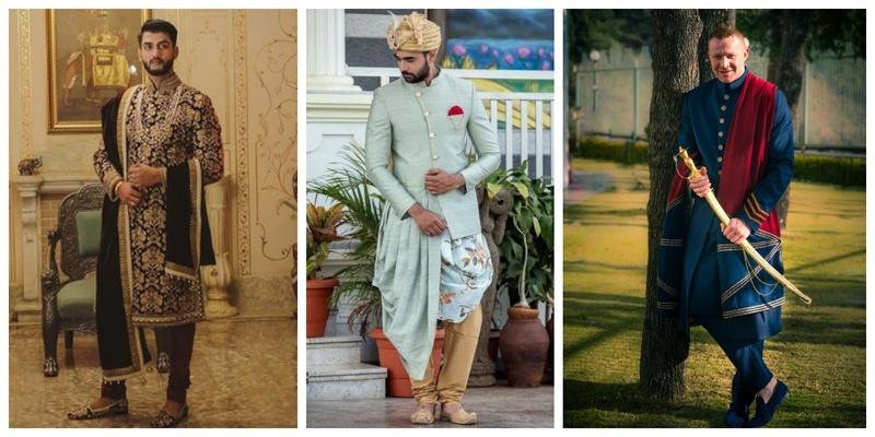 13 Offbeat & Trending Sherwanis for the Grooms this Wedding Season!