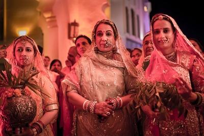 Traditional ethnic indian marwadi