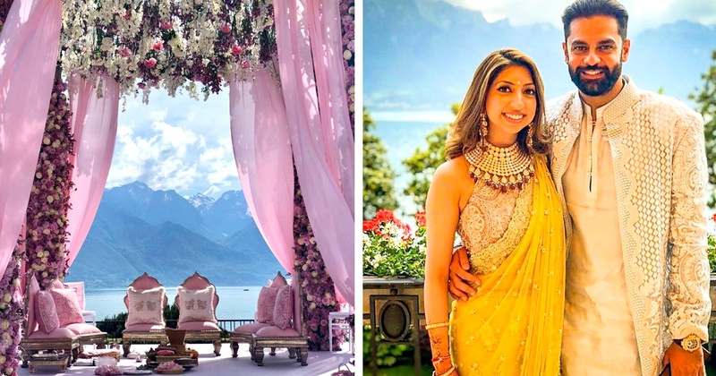 This wedding brought one entire Swiss town to a hault! #BigFatIndianWedding