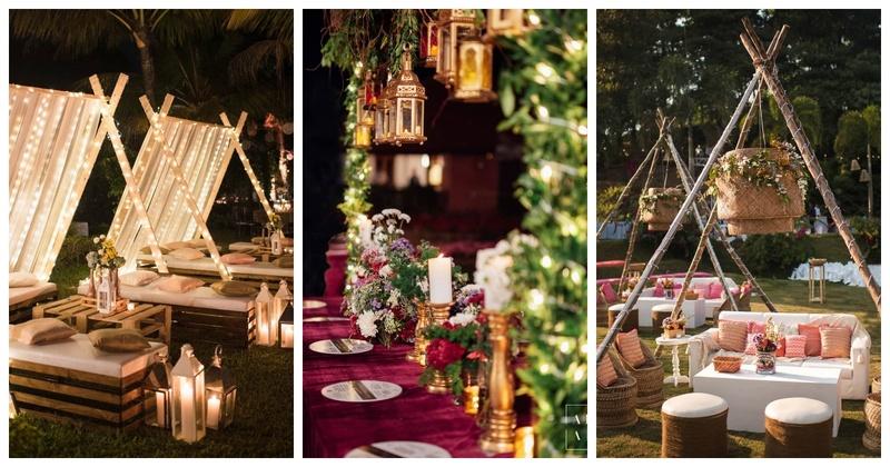 This Wedding's Unique Decor Made us Go, 'WOW'!