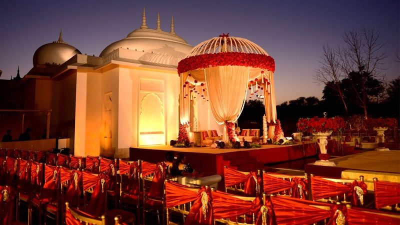 Wedding Lawns in Udaipur Which are The Best for Outdoor Wedding Ceremony