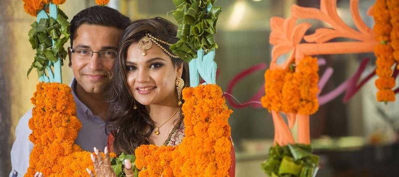 Bhavyesh  & Seep Jaipur : Creative and quirky destination wedding held at The Hilton, Jaipur