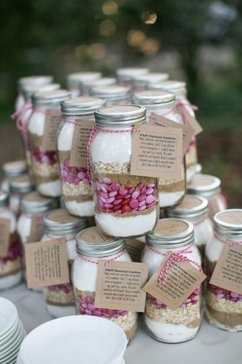 Trendy Mason Jar Wedding Gift Idea