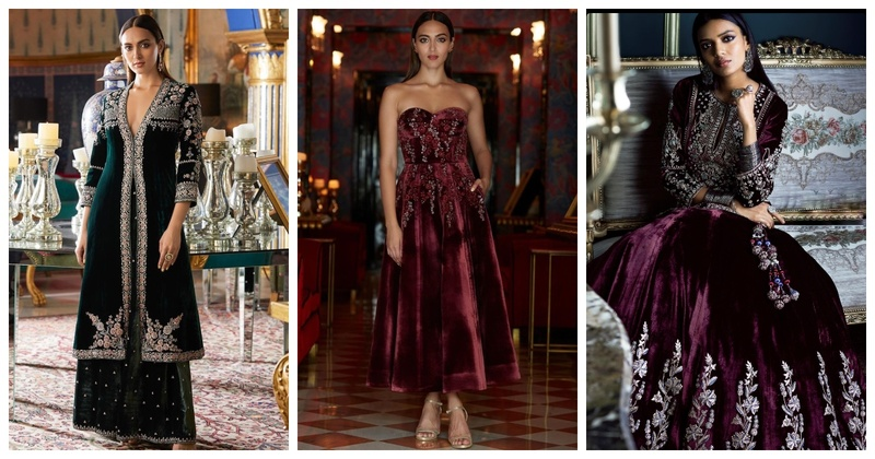 Anita Dongre's Winter Velvet Collection has Our Attention!