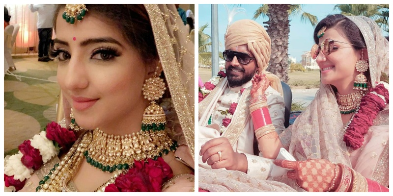 TV Sensation Lovey Sasan and Koushik Krishnamurthy's Wedding Pictures are too cute to handle!