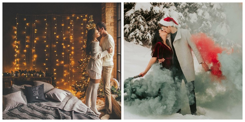 These Christmas Themed Pre-Wedding Shoots are what Christmas Dreams are made of!