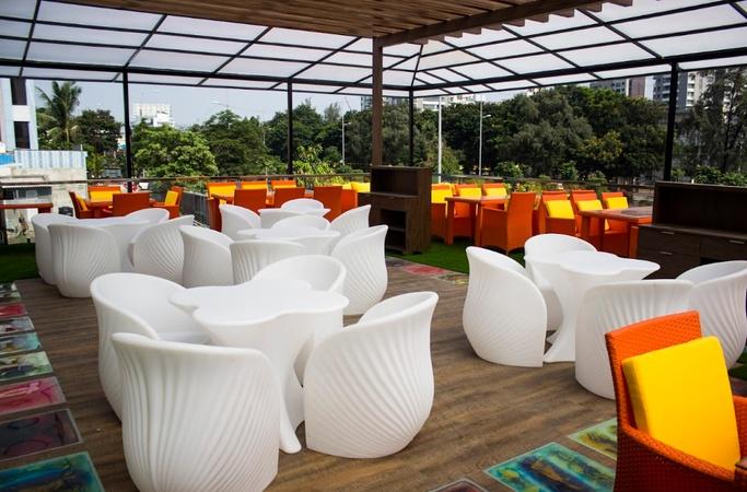 TFC Restaurant Vesu Surat - Banquet Terrace