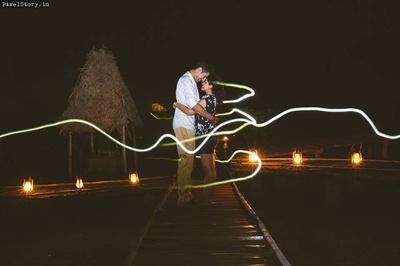 Creative pre wedding photoshoot ideas.