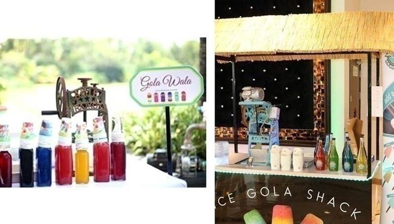 Wedding food bar idea: CHUSKIS <3