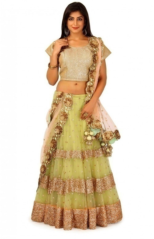 bd9ef76a1 With a vast range of designer lehengas to its credit, Ranas in Jaipur is  one of the leading places for bridal shopping in Jaipur.
