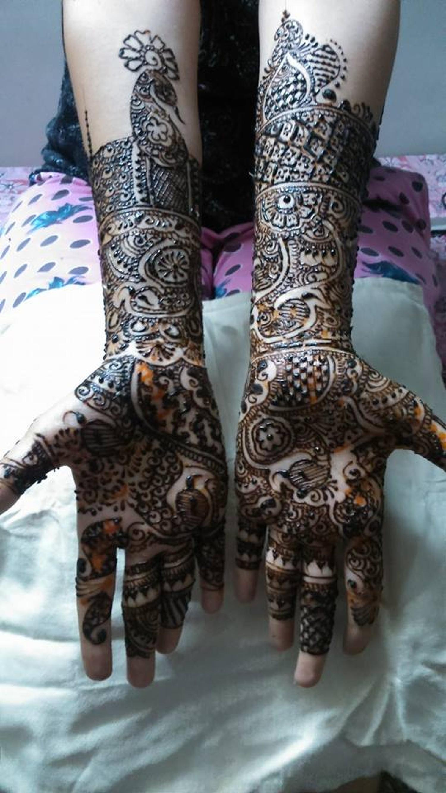 Bridal Mehndi Artist In Surat : Khushi mehndi designer bridal artist in mumbai