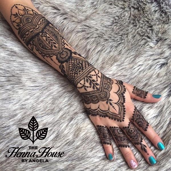 The Henna House by Angela