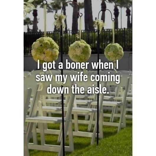 FUNNY WEDDING CONFESSIONS