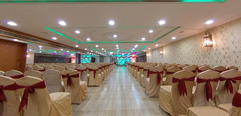 Abinandana Grand Lingampally Hyderabad - Banquet Hall