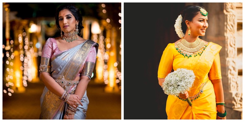8 Kanjeevaram Saree Inspiration for South Indian Brides