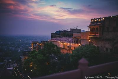 Beautiful Neemrana Fort Palace photography by Gautam Khullar.