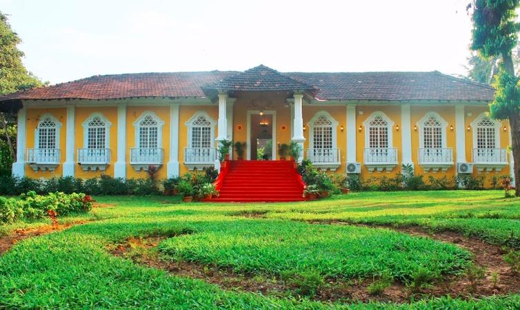 Silva Heritage Benaulim Goa - Wedding Lawn