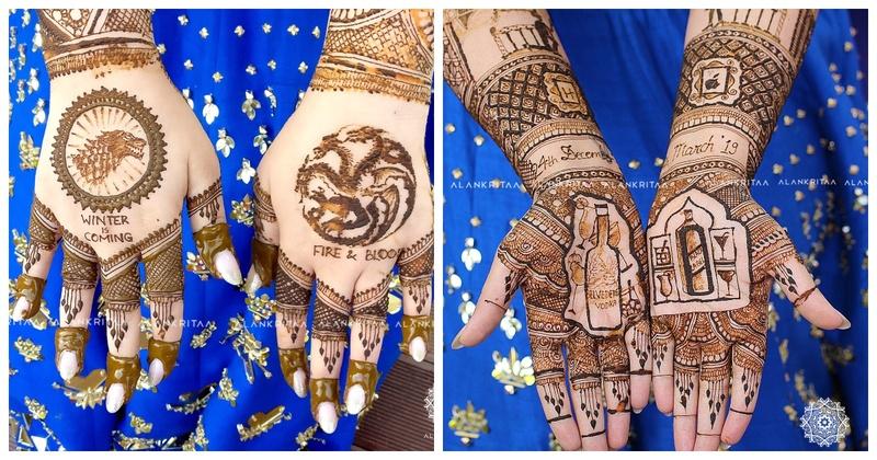 GoT and F.R.I.E.N.D.S fans, you've got to check out this bride's mehendi design!