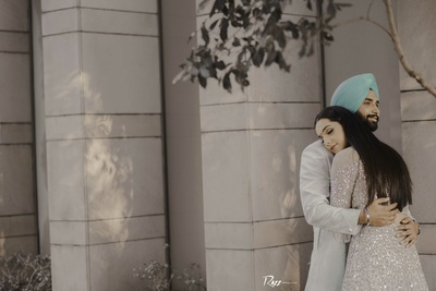 This couple looks cute and lovely in this post-wedding photoshoot!