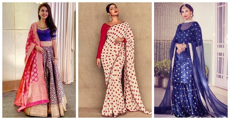 7 Diwali Party Outfits for Newly Married Brides