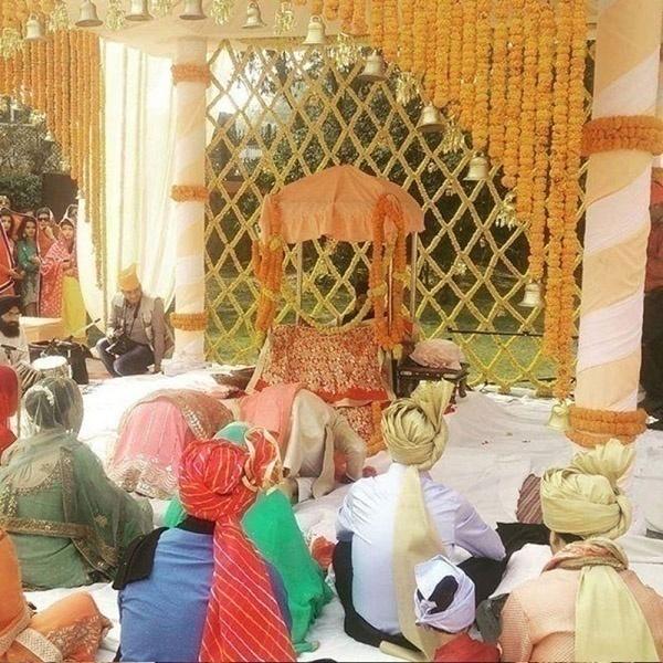 #RubyVinitDaVyah - Nimrat Kaur's Sister, Rubina's Gorgeous Outdoor Delhi Wedding