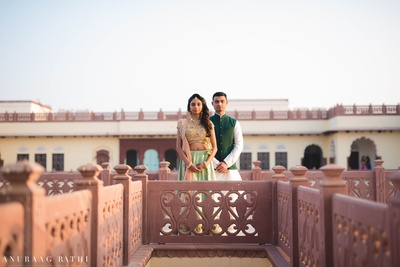 Nidhi and Arpan's pre wedding shoot in Jodhpur