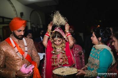 Vidaai ceremony rituals.