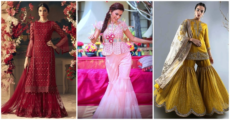 10 Sharara designs that will give you major bride-wear goals!