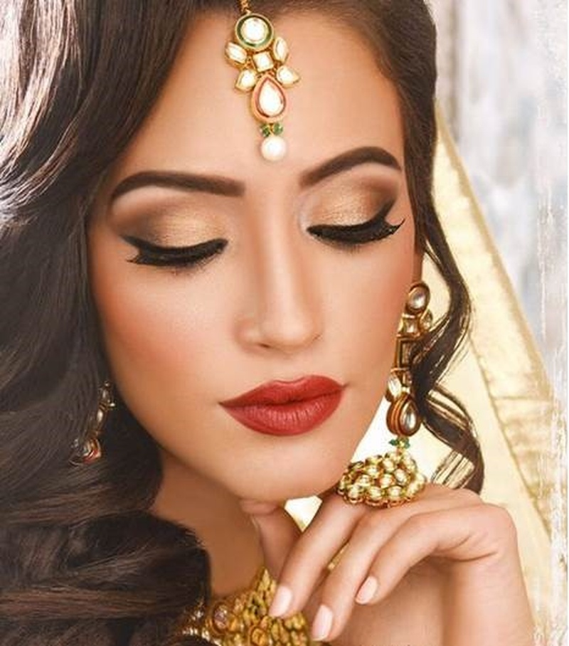 Indian Bridal Eye Makeup: 7 Eye Make-Up Trends For Indian Brides Of 2017!
