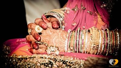 Bridal ensemble photography by Camera Crew