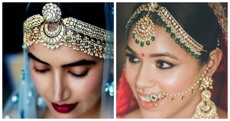 7 Stunning Matha-Pattis for the Indian Bride!