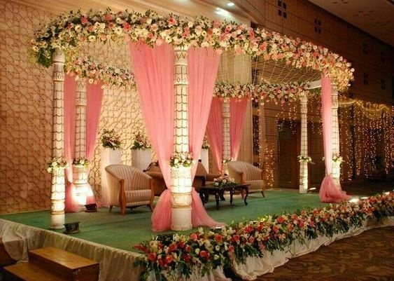 40 Best Wedding Reception Stage Decoration Ideas For 2018 Blog