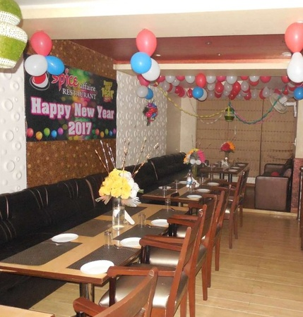 Spice Affair Restaurant And Hall Ganga Nagar Meerut - Banquet Hall